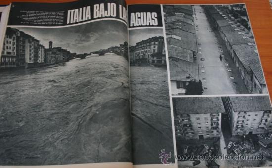 Coleccionismo de Revista Gaceta Ilustrada: GACETA ILUSTRADA 528 1966 - JOSE ANTONIO PRIMO DE RIVERA, ITALIA INUNDADA, VIETNAM, ROBERT KENNEDY - Foto 2 - 37656528