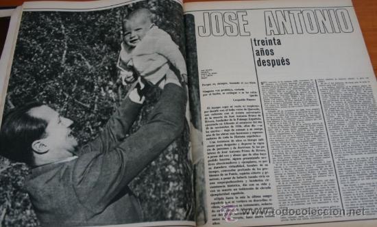 Coleccionismo de Revista Gaceta Ilustrada: GACETA ILUSTRADA 528 1966 - JOSE ANTONIO PRIMO DE RIVERA, ITALIA INUNDADA, VIETNAM, ROBERT KENNEDY - Foto 4 - 37656528