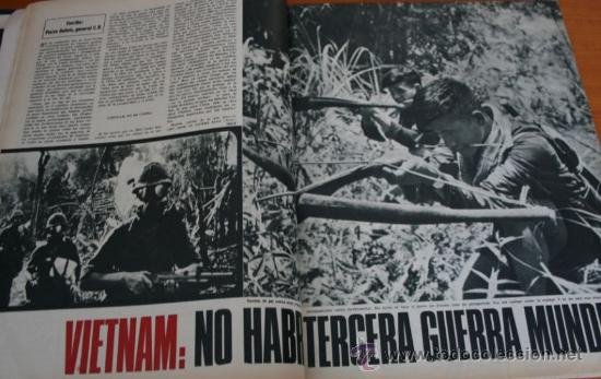 Coleccionismo de Revista Gaceta Ilustrada: GACETA ILUSTRADA 528 1966 - JOSE ANTONIO PRIMO DE RIVERA, ITALIA INUNDADA, VIETNAM, ROBERT KENNEDY - Foto 5 - 37656528