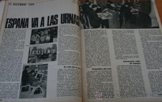 Coleccionismo de Revista Gaceta Ilustrada: GACETA ILUSTRADA 531 1966 - ESPAÑA A LAS URNAS, ADOPCIONES EN ESPAÑA, BERLIN LA ULTIMA BATALLA - Foto 4 - 37712269
