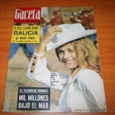 Coleccionismo de Revista Gaceta Ilustrada: GACETA ILUSTRADA 362 1963 - CONCORDE, KUBALA, HUMLIKON, PONTEVEDRA, EL TESORO DE ROMMEL, PEARL BUCK. Lote 37711551