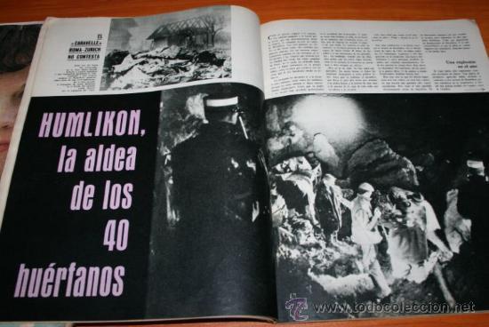 Coleccionismo de Revista Gaceta Ilustrada: GACETA ILUSTRADA 362 1963 - CONCORDE, KUBALA, HUMLIKON, PONTEVEDRA, EL TESORO DE ROMMEL, PEARL BUCK - Foto 6 - 37711551
