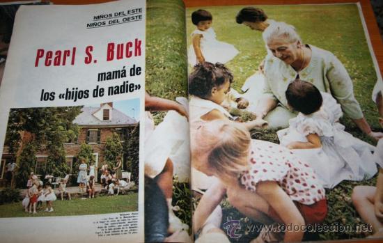 Coleccionismo de Revista Gaceta Ilustrada: GACETA ILUSTRADA 362 1963 - CONCORDE, KUBALA, HUMLIKON, PONTEVEDRA, EL TESORO DE ROMMEL, PEARL BUCK - Foto 7 - 37711551