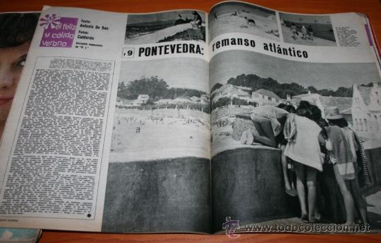 Coleccionismo de Revista Gaceta Ilustrada: GACETA ILUSTRADA 362 1963 - CONCORDE, KUBALA, HUMLIKON, PONTEVEDRA, EL TESORO DE ROMMEL, PEARL BUCK - Foto 8 - 37711551