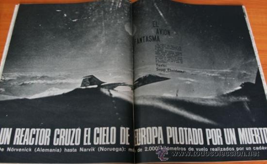 Coleccionismo de Revista Gaceta Ilustrada: GACETA ILUSTRADA 487 1966 AVION FANTASMA TRIPULADO POR UN MUERTO URSS GUERRA SOFIA LOREN EMBARAZADA - Foto 2 - 37725635