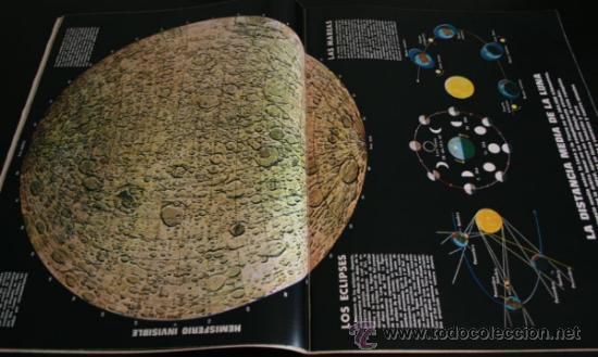 Coleccionismo de Revista Gaceta Ilustrada: GACETA ILUSTRADA 667 20 JULIO 1969, EXTRA EL LIBRO DE LA LUNA, MANUEL AZNAR, DR BARNARD, GRACE - Foto 3 - 37760579