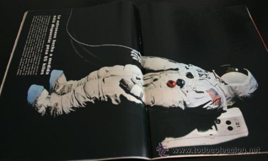 Coleccionismo de Revista Gaceta Ilustrada: GACETA ILUSTRADA 667 20 JULIO 1969, EXTRA EL LIBRO DE LA LUNA, MANUEL AZNAR, DR BARNARD, GRACE - Foto 4 - 37760579