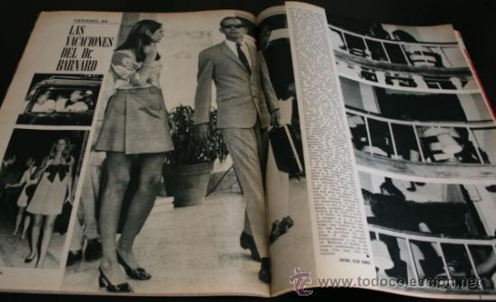 Coleccionismo de Revista Gaceta Ilustrada: GACETA ILUSTRADA 667 20 JULIO 1969, EXTRA EL LIBRO DE LA LUNA, MANUEL AZNAR, DR BARNARD, GRACE - Foto 7 - 37760579