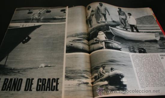 Coleccionismo de Revista Gaceta Ilustrada: GACETA ILUSTRADA 667 20 JULIO 1969, EXTRA EL LIBRO DE LA LUNA, MANUEL AZNAR, DR BARNARD, GRACE - Foto 6 - 37760579