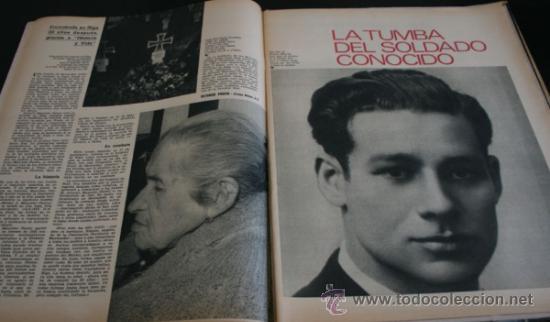 Coleccionismo de Revista Gaceta Ilustrada: GACETA ILUSTRADA 751 1971, EL CORDOBES, TUMBA SOLDADO ANTONIO MANCEBO EN RIGA, MARTIN PERARNAU - Foto 2 - 37760993