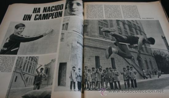 Coleccionismo de Revista Gaceta Ilustrada: GACETA ILUSTRADA 751 1971, EL CORDOBES, TUMBA SOLDADO ANTONIO MANCEBO EN RIGA, MARTIN PERARNAU - Foto 4 - 37760993