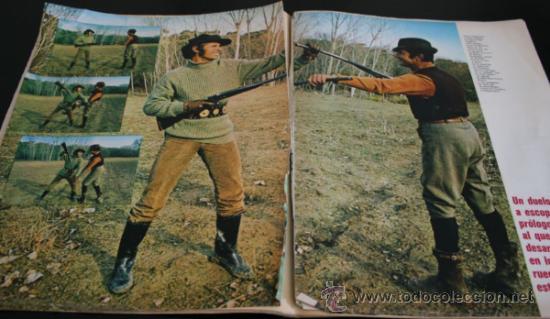 Coleccionismo de Revista Gaceta Ilustrada: GACETA ILUSTRADA 751 1971, EL CORDOBES, TUMBA SOLDADO ANTONIO MANCEBO EN RIGA, MARTIN PERARNAU - Foto 6 - 37760993