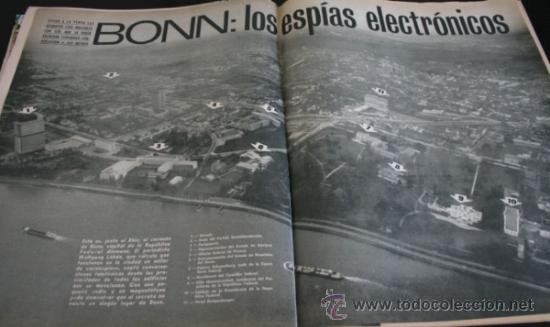 Coleccionismo de Revista Gaceta Ilustrada: GACETA ILUSTRADA 751 1971, EL CORDOBES, TUMBA SOLDADO ANTONIO MANCEBO EN RIGA, MARTIN PERARNAU - Foto 7 - 37760993