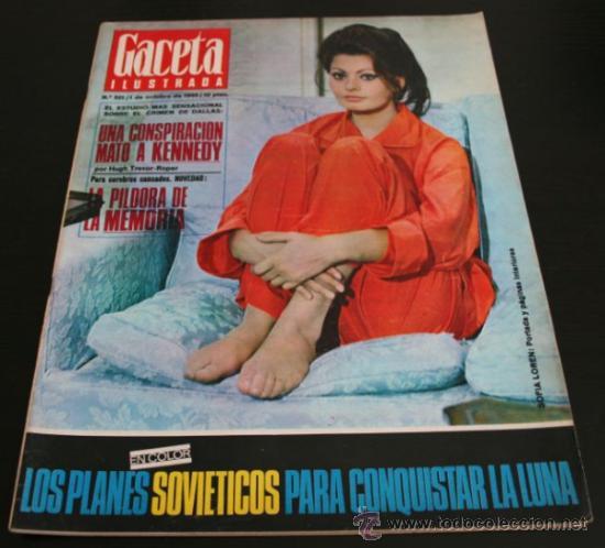 Coleccionismo de Revista Gaceta Ilustrada: GACETA ILUSTRADA 521 1966, UNA CONSPIRACION MATO A KENNEDY, LOS PLANES RUSOS PARA CONQUISTAR LA LUNA - Foto 11 - 37763229
