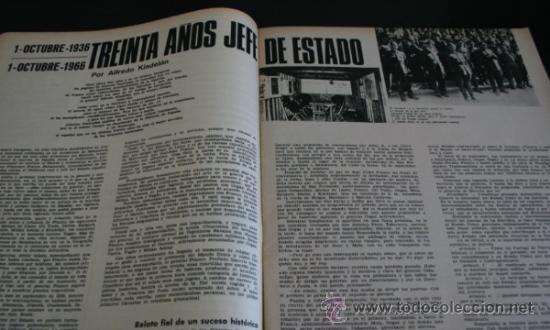 Coleccionismo de Revista Gaceta Ilustrada: GACETA ILUSTRADA 521 1966, UNA CONSPIRACION MATO A KENNEDY, LOS PLANES RUSOS PARA CONQUISTAR LA LUNA - Foto 10 - 37763229