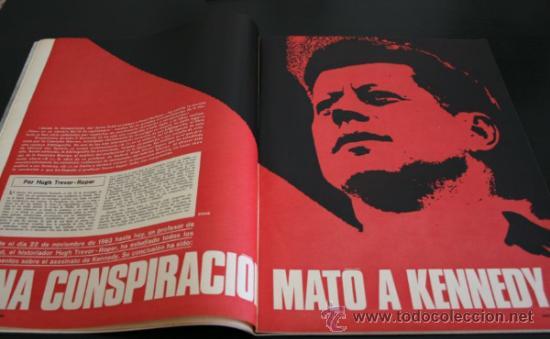 Coleccionismo de Revista Gaceta Ilustrada: GACETA ILUSTRADA 521 1966, UNA CONSPIRACION MATO A KENNEDY, LOS PLANES RUSOS PARA CONQUISTAR LA LUNA - Foto 2 - 37763229