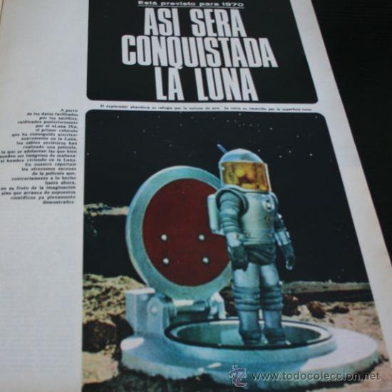Coleccionismo de Revista Gaceta Ilustrada: GACETA ILUSTRADA 521 1966, UNA CONSPIRACION MATO A KENNEDY, LOS PLANES RUSOS PARA CONQUISTAR LA LUNA - Foto 3 - 37763229