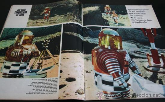 Coleccionismo de Revista Gaceta Ilustrada: GACETA ILUSTRADA 521 1966, UNA CONSPIRACION MATO A KENNEDY, LOS PLANES RUSOS PARA CONQUISTAR LA LUNA - Foto 4 - 37763229