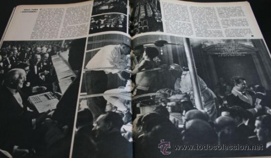 Coleccionismo de Revista Gaceta Ilustrada: GACETA ILUSTRADA 521 1966, UNA CONSPIRACION MATO A KENNEDY, LOS PLANES RUSOS PARA CONQUISTAR LA LUNA - Foto 6 - 37763229