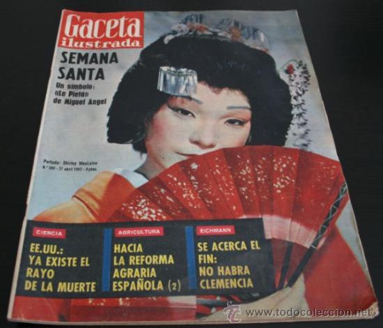 Coleccionismo de Revista Gaceta Ilustrada: GACETA ILUSTRADA 289 13 JULIO 1962, LOLA FLORES, NATI MISTRAL, EICHMANN, TITANIC, PUEBLO TURRIENTES - Foto 10 - 37763442