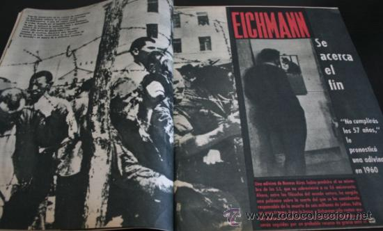 Coleccionismo de Revista Gaceta Ilustrada: GACETA ILUSTRADA 289 13 JULIO 1962, LOLA FLORES, NATI MISTRAL, EICHMANN, TITANIC, PUEBLO TURRIENTES - Foto 3 - 37763442