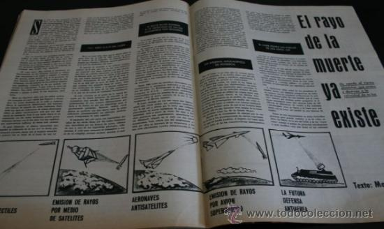 Coleccionismo de Revista Gaceta Ilustrada: GACETA ILUSTRADA 289 13 JULIO 1962, LOLA FLORES, NATI MISTRAL, EICHMANN, TITANIC, PUEBLO TURRIENTES - Foto 9 - 37763442