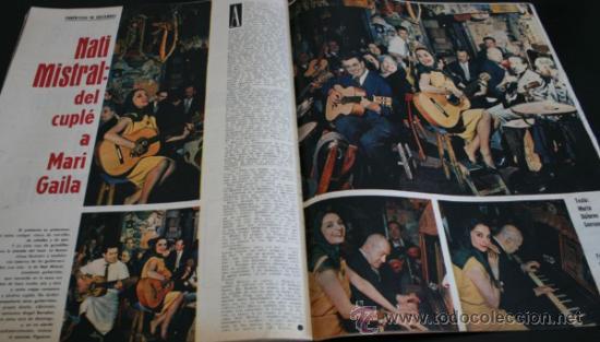 Coleccionismo de Revista Gaceta Ilustrada: GACETA ILUSTRADA 289 13 JULIO 1962, LOLA FLORES, NATI MISTRAL, EICHMANN, TITANIC, PUEBLO TURRIENTES - Foto 7 - 37763442