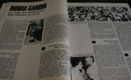 Coleccionismo de Revista Gaceta Ilustrada: GACETA ILUSTRADA 486 1966, NIÑOS MUERTOS ENVENENADOS N CARRIL DE LA FAROLA MURCIA, EXCLUSIVA VIETNAM - Foto 10 - 37772905