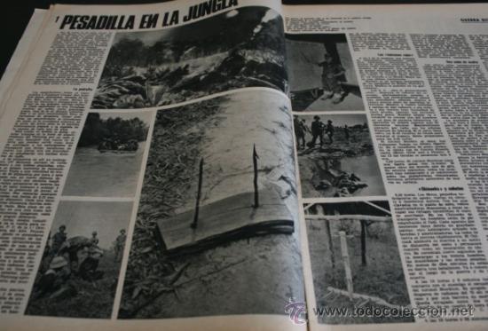 Coleccionismo de Revista Gaceta Ilustrada: GACETA ILUSTRADA 486 1966, NIÑOS MUERTOS ENVENENADOS N CARRIL DE LA FAROLA MURCIA, EXCLUSIVA VIETNAM - Foto 6 - 37772905