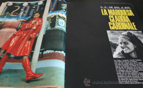 Coleccionismo de Revista Gaceta Ilustrada: GACETA ILUSTRADA 486 1966, NIÑOS MUERTOS ENVENENADOS N CARRIL DE LA FAROLA MURCIA, EXCLUSIVA VIETNAM - Foto 7 - 37772905