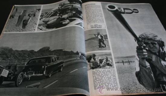 Coleccionismo de Revista Gaceta Ilustrada: GACETA ILUSTRADA 486 1966, NIÑOS MUERTOS ENVENENADOS N CARRIL DE LA FAROLA MURCIA, EXCLUSIVA VIETNAM - Foto 9 - 37772905