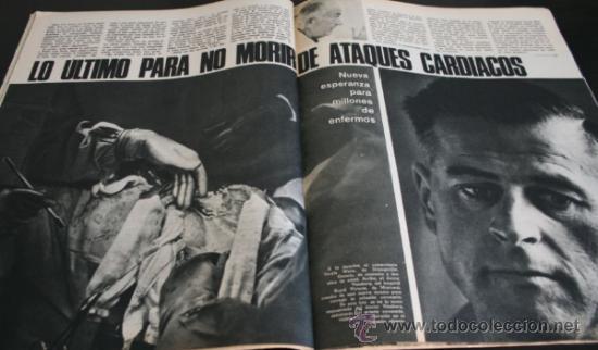 Coleccionismo de Revista Gaceta Ilustrada: GACETA ILUSTRADA 486 1966, NIÑOS MUERTOS ENVENENADOS N CARRIL DE LA FAROLA MURCIA, EXCLUSIVA VIETNAM - Foto 5 - 37772905