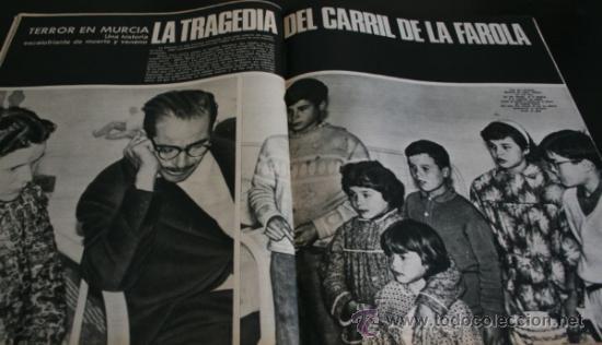 Coleccionismo de Revista Gaceta Ilustrada: GACETA ILUSTRADA 486 1966, NIÑOS MUERTOS ENVENENADOS N CARRIL DE LA FAROLA MURCIA, EXCLUSIVA VIETNAM - Foto 2 - 37772905