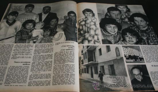 Coleccionismo de Revista Gaceta Ilustrada: GACETA ILUSTRADA 486 1966, NIÑOS MUERTOS ENVENENADOS N CARRIL DE LA FAROLA MURCIA, EXCLUSIVA VIETNAM - Foto 3 - 37772905