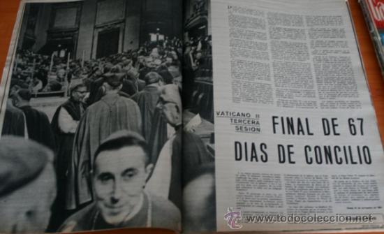 Coleccionismo de Revista Gaceta Ilustrada: GACETA ILUSTRADA 425 1964, HOMBRE BAUL VOLADOR, MARIA CALLAS, MUERE DOROTEA COLMENARES, SAMMY DAVIS - Foto 7 - 37788392