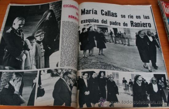 Coleccionismo de Revista Gaceta Ilustrada: GACETA ILUSTRADA 425 1964, HOMBRE BAUL VOLADOR, MARIA CALLAS, MUERE DOROTEA COLMENARES, SAMMY DAVIS - Foto 6 - 37788392