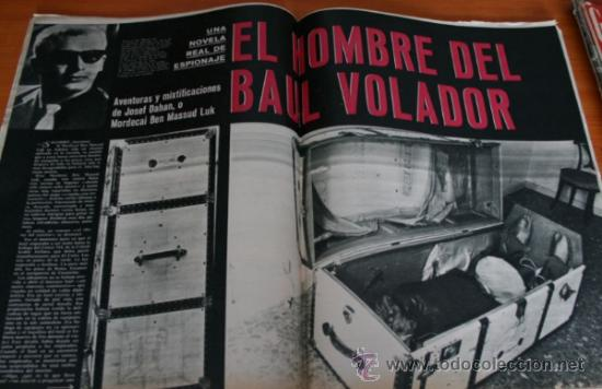 Coleccionismo de Revista Gaceta Ilustrada: GACETA ILUSTRADA 425 1964, HOMBRE BAUL VOLADOR, MARIA CALLAS, MUERE DOROTEA COLMENARES, SAMMY DAVIS - Foto 2 - 37788392