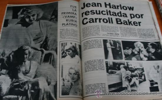 Coleccionismo de Revista Gaceta Ilustrada: GACETA ILUSTRADA 425 1964, HOMBRE BAUL VOLADOR, MARIA CALLAS, MUERE DOROTEA COLMENARES, SAMMY DAVIS - Foto 5 - 37788392