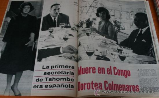 Coleccionismo de Revista Gaceta Ilustrada: GACETA ILUSTRADA 425 1964, HOMBRE BAUL VOLADOR, MARIA CALLAS, MUERE DOROTEA COLMENARES, SAMMY DAVIS - Foto 3 - 37788392