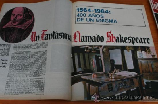 Coleccionismo de Revista Gaceta Ilustrada: GACETA ILUSTRADA 393 1964, DIARIO JUAN XXIII, TORO RADIODIRIGIDO, SHAKESPEARE, MONICA VITTI - Foto 3 - 37788655