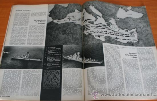 Coleccionismo de Revista Gaceta Ilustrada: GACETA ILUSTRADA 633 1968, PRIMERAS AUTOPISTAS DE ESPAÑA, FLOTA SOVIETICA EN EL MEDITERRANEO, TALGO - Foto 2 - 37794927