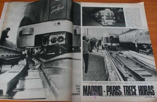 Coleccionismo de Revista Gaceta Ilustrada: GACETA ILUSTRADA 633 1968, PRIMERAS AUTOPISTAS DE ESPAÑA, FLOTA SOVIETICA EN EL MEDITERRANEO, TALGO - Foto 5 - 37794927