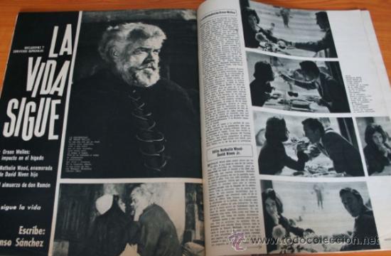 Coleccionismo de Revista Gaceta Ilustrada: GACETA ILUSTRADA 397 1964, MICHAEL Y GERALDINE CHAPLIN, EL TAUD DE ANA MOWBRAY, MARIA CUADRA - Foto 2 - 37795613
