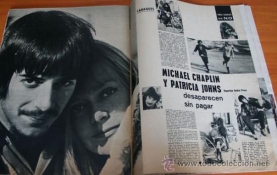 Coleccionismo de Revista Gaceta Ilustrada: GACETA ILUSTRADA 397 1964, MICHAEL Y GERALDINE CHAPLIN, EL TAUD DE ANA MOWBRAY, MARIA CUADRA - Foto 3 - 37795613