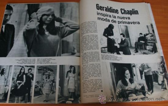 Coleccionismo de Revista Gaceta Ilustrada: GACETA ILUSTRADA 397 1964, MICHAEL Y GERALDINE CHAPLIN, EL TAUD DE ANA MOWBRAY, MARIA CUADRA - Foto 4 - 37795613