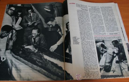 Coleccionismo de Revista Gaceta Ilustrada: GACETA ILUSTRADA 397 1964, MICHAEL Y GERALDINE CHAPLIN, EL TAUD DE ANA MOWBRAY, MARIA CUADRA - Foto 6 - 37795613