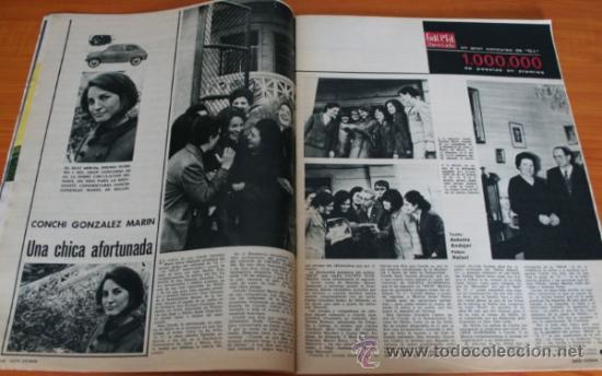 Coleccionismo de Revista Gaceta Ilustrada: GACETA ILUSTRADA 397 1964, MICHAEL Y GERALDINE CHAPLIN, EL TAUD DE ANA MOWBRAY, MARIA CUADRA - Foto 8 - 37795613