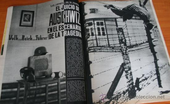 Coleccionismo de Revista Gaceta Ilustrada: GACETA ILUSTRADA 436 1965, JUICIO AUSCHWIZ, DACHAU, ZURBARAN, INTER DE MILAN, SOFIA LOREN - Foto 2 - 37795762