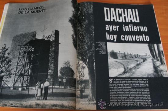 Coleccionismo de Revista Gaceta Ilustrada: GACETA ILUSTRADA 436 1965, JUICIO AUSCHWIZ, DACHAU, ZURBARAN, INTER DE MILAN, SOFIA LOREN - Foto 3 - 37795762