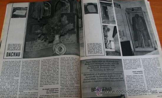Coleccionismo de Revista Gaceta Ilustrada: GACETA ILUSTRADA 436 1965, JUICIO AUSCHWIZ, DACHAU, ZURBARAN, INTER DE MILAN, SOFIA LOREN - Foto 4 - 37795762